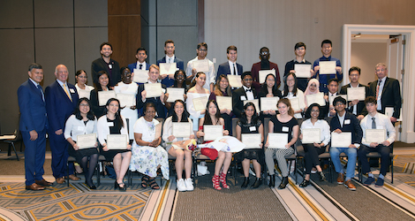 $408,000 in Scholarships Awarded to 34 High School Seniors